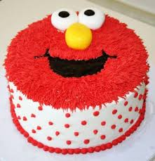 Red Elmo Cake Fondant Cakes In Lahore Free Delivery