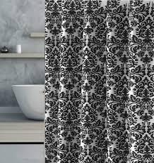 Image Vineet Bahl Bath Supplies Store Black And White Shower Curtain Fancy