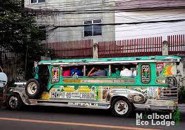 jeepney street art in moalboal cebu