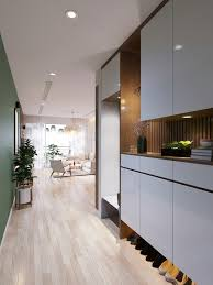 Designs by Style: Green And Wood Panel Design - Scandinavian Design Ideas