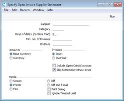 Statement Of Invoices Hansaworld Integrated Erp And Crm