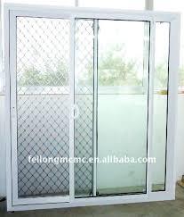 wonderful sliding glass door security aluminium mesh of supplier glas