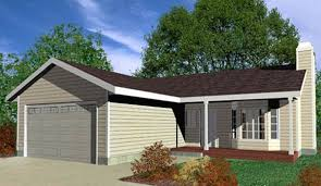 Single Family House Plans Floor Plans Home Plans Portland NW One Level  Bedroom  Bath  Car Garage  Covered Porch