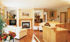 1 story open concept floor plans for small homes