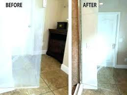 hard water stain remover shower door hinged glass shower door repair sweep custom doors