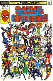 marvel ics superheroes 1