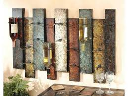 Decorative Wine Bottle Holders Wall Mounted Wine Holder And Multi Overlay Offset Panel And Nine 37