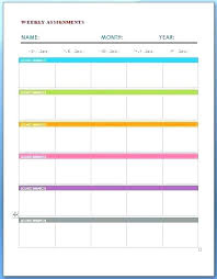 Student Assignment Planner Printable Student Homework Planners Cute Printable Best Planner Ruler With