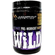wild pre workout by juggernaut nutrition southern sweet tea
