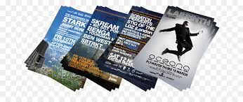 Advertisement Brochure Cool Flyer Advertising Poster Printing Brochure Marketing Png Download