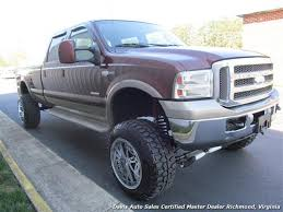 2006 ford f 350 super duty king ranch fx4 4x4 crew cab long bed
