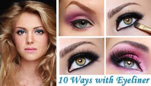 diffe ways and styles to apply makeup