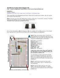 Hulda Clark Frequency Chart