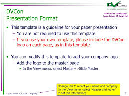 Paper And Tutorial Presentation Template And Information Ppt Download