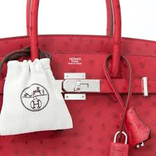 hermes bag price. hermes ostrich birkin 30 rouge vif buy authentic secondhand hermès bags at the right price bag