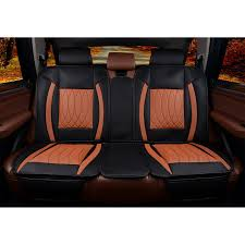brown seat cover back bench