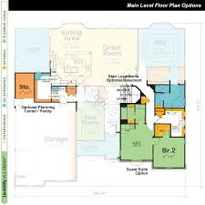 One Story House Plans   Open Floor Plans   Design BasicsExample one story home plan   Design   the McAllister