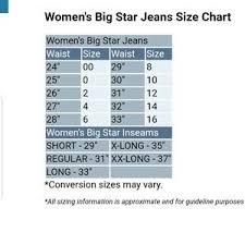 Big Star Boot Cut Jeans Nwt