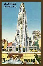 138 best New York City Quilt Blocks images on Pinterest ... & RCA Building Rockefeller Center New York City Vintage Postcard Adamdwight.com