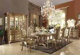 vendome chandelier gold patina bone dining room collection by acme vendome small chandelier
