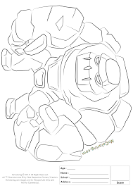 Images Of Golem Pokemon Coloring Pages Rock Cafe
