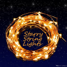 indoor string lighting. Warm White Prettiest LED String Lights Copper Wire Starry Lights, Décor Rope Indoor Lighting