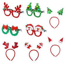 Christmas Photo Frames For Kids Christmas Headbands Reindeer Santa Christmas Glasses Frames