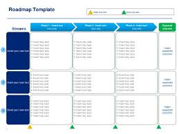 roadmap templates excel project plan templates in powerpoint excel