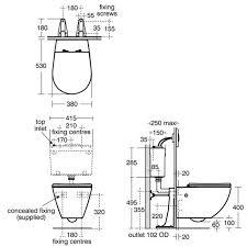 david perfield wall hung toilet pan