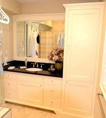 bathroom countertop storage tower cabinet vanity towers