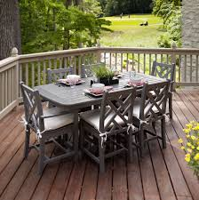 metal outdoor dining chairs. Outdoor:Garden Table And Six Chairs White Patio Dining Set Outdoor High Top Metal N