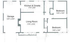32 beautiful simple 3 bedroom house floor plans pdf 2 bedroom house floor plans with