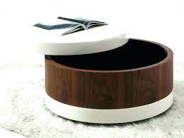 ottoman coffee table storage storage coffee table ottoman upholstered coffee table with storage round coffee table