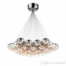 modern led glass chandeliers led pendant lighting chrome glass chandeliers lighting g4 hanging chandelier lamp fixture large pendant contemporary