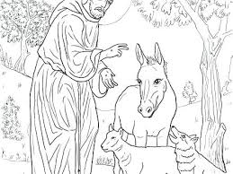 St Francis Of Assisi Coloring Pages St Of Printable Coloring Page St