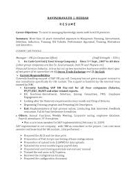 Sample Resume Objectives For Human Resource Assistant New Hr