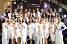 เปิดตัว Miss Universe Thailand 2020 รอบ 30 คนสุดท้าย กลางไอคอนสยาม -  สมาคมนักข่าวบันเทิง official