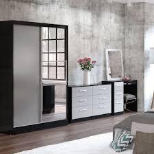 black and grey bedroom furniture. links black and grey high gloss bedroom furniture 89399 c