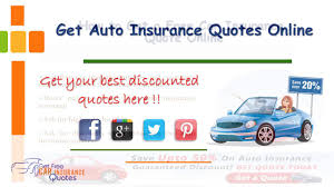 get auto insurance quotes from multiple companies