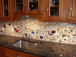 Pecan Tree Mosaic Backsplash II by Mosaics by Marlene, via Flickr