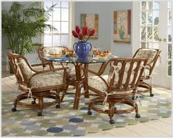 swivel dining room chairs. Swivel Dining Room Chairs With Casters Interior Design Without E