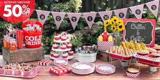 Gingham Picnic Party Theme - Patterned Tableware 50% Off MSRP ...