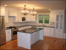 image of painting kitchen cabinets white cost