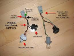 eg rear fog light for $2 honda tech honda forum discussion  to remove the wires from the quick connect on the outer stanly wire harness use a paper clip or small flat screw driver remove the pins from the quick 1990 Accored Oem Fog Light Wiring Harness