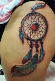 Dream Catcher Tattoo Pics Colorful Dream Catcher Tattoo That Will be Uniquely Your Own 53