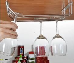 Wine Glass Hangers Under Cabinet Top Twelve Restocks Under Cabinet Wine Glassholder On Amazon