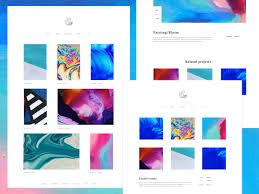 Art Portfolio Website Design Portfolio Website Design By Neha Nagar On Dribbble