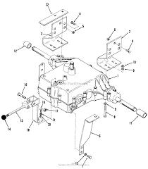 toro 02 11bp05 b 115 5 speed tractor 1982 parts diagram for 5 zoom