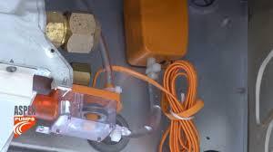 install of mini orange pump on ceiling unit install of mini orange pump on ceiling unit