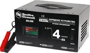 Зарядное <b>устройство QUATTRO ELEMENTI BC</b> 4M - цена, фото ...